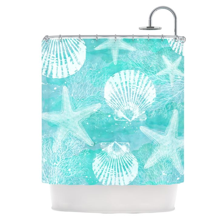 Shower Curtain Teal 1000 Ideas About Curtains On Restroom Mermaid Bathroom And