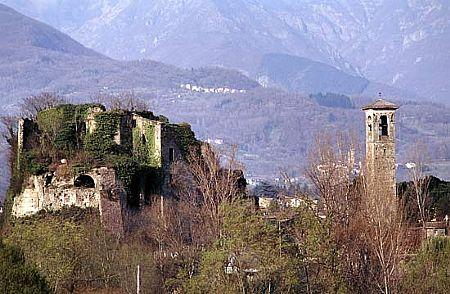 Castello Malnido in Villafranca