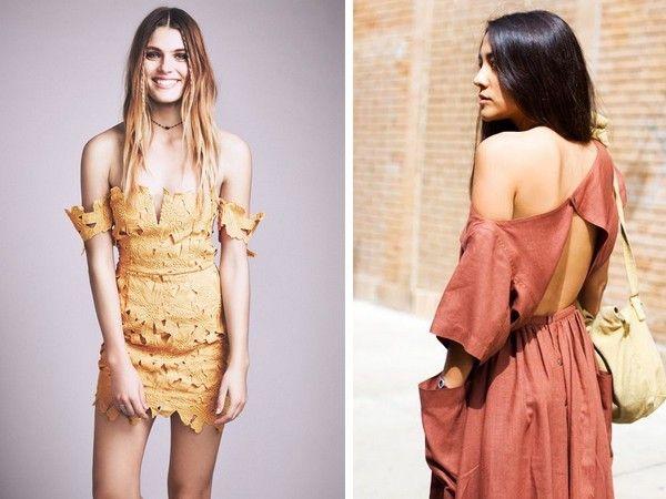 Идеи для вдохновения! Самые стильные летние образы с открытыми плечами в подборке от стилистов Школы Шопинга!