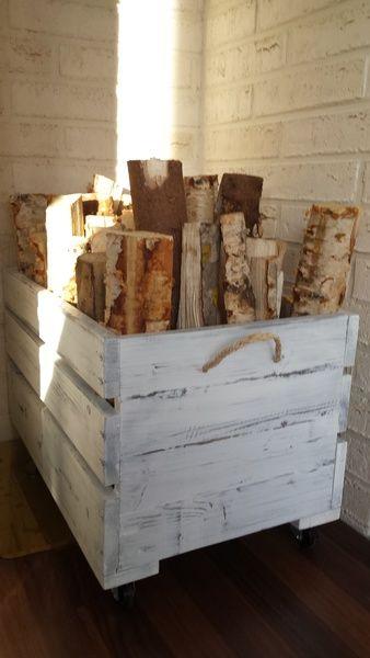 puulaatikko,polttopuut,kierrätyspuu,olohuone,Tee itse - DIY