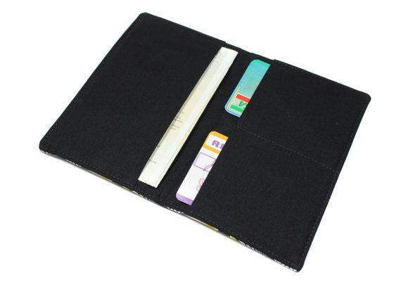 pochette papiers voiture carte grise, assurance, permis en tissu wax - Format malin nouveau permis