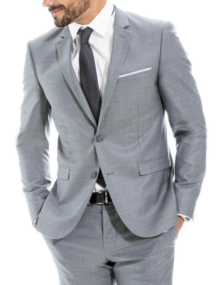 les 25 meilleures id es concernant costume de mariage gris sur pinterest costumes de mariage. Black Bedroom Furniture Sets. Home Design Ideas