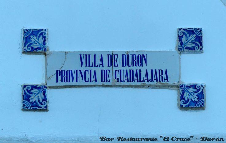 Villa de Durón, Guadalajara - España  Bar Restaurante El Cruce Durón