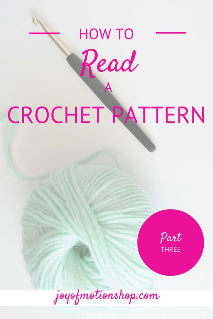 Learn to read a crochet pattern or ANY crochet pattern. Read this, understand the terms