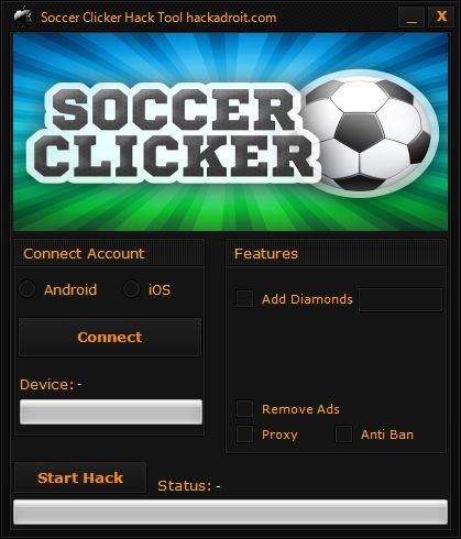 Soccer Clicker Hack Tool