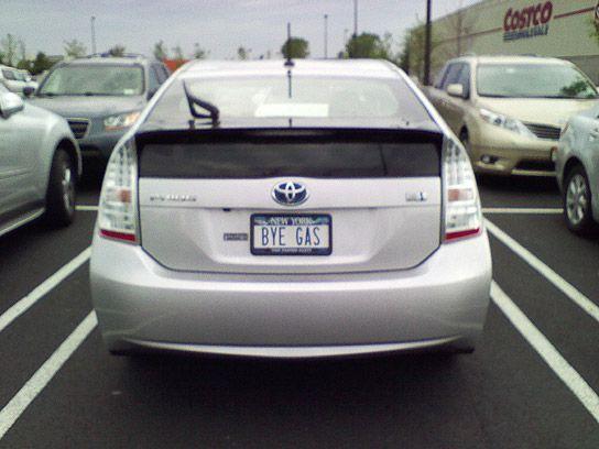 Toyota Prius License Plate License Plate Fun 2