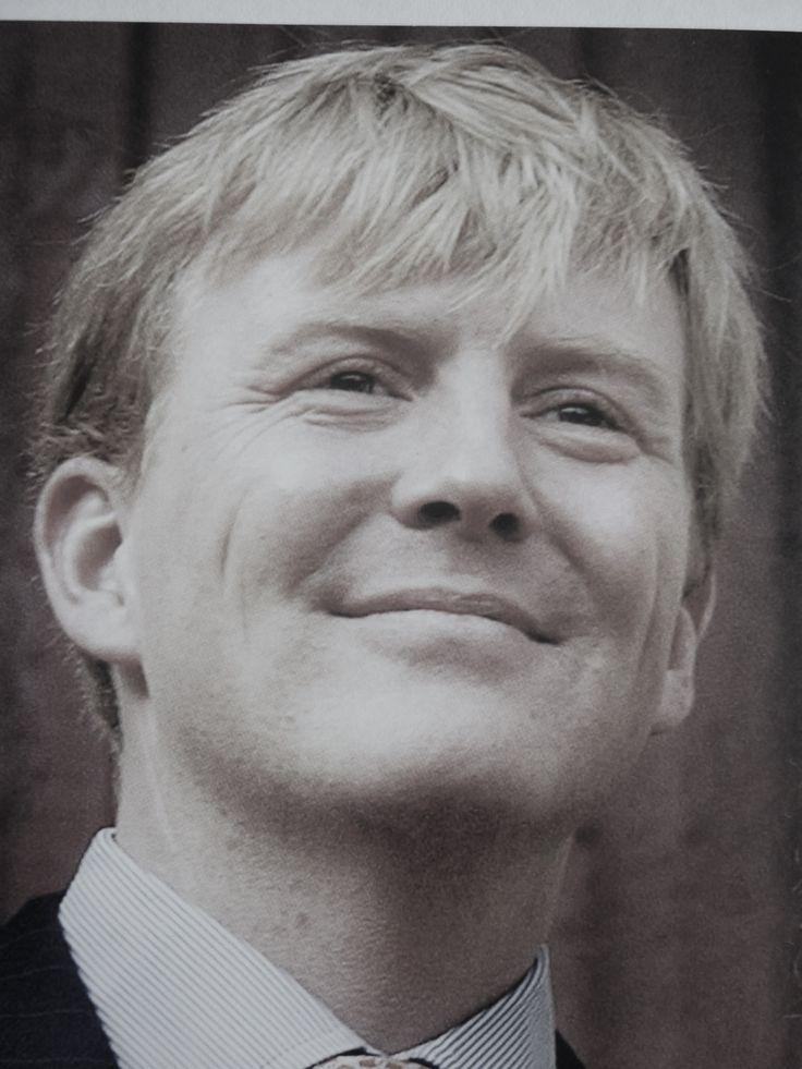 Mooi portret van Willem-Alexander