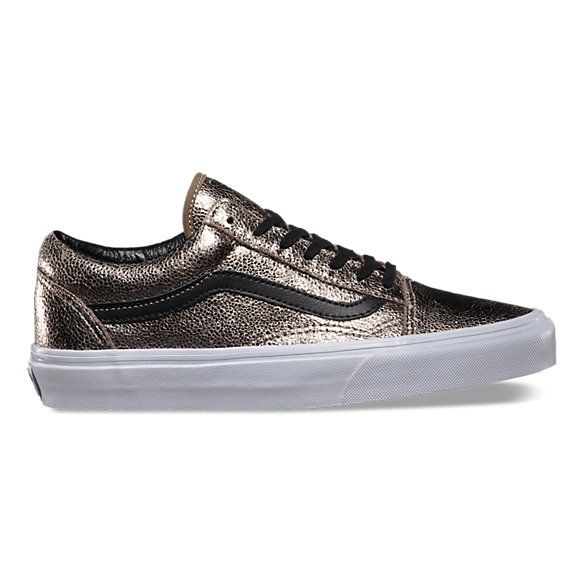 Metallic Leather Old Skool
