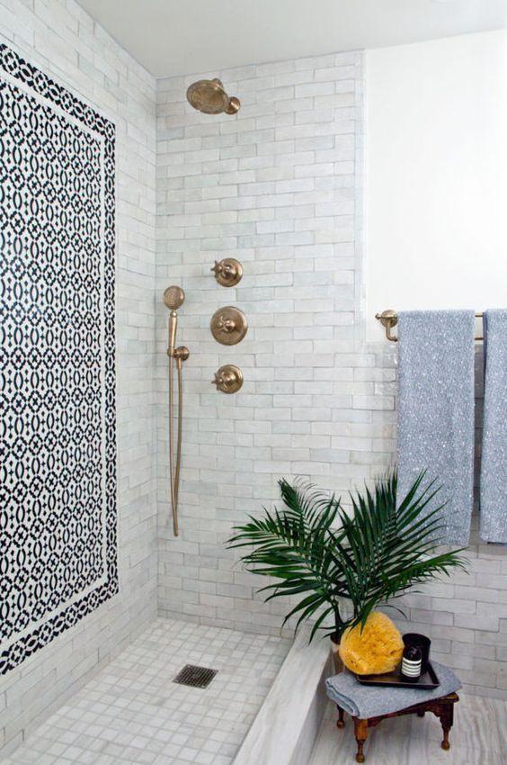 Gorgeous open shower http://sabonhomeblog.tumblr.com/post/141313503534