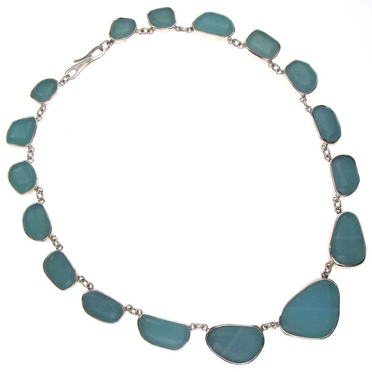 Silver 925, blue quartz