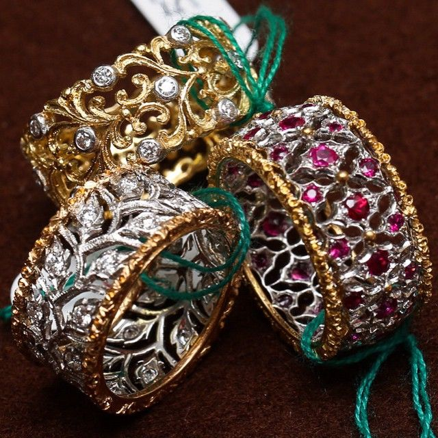 """""""Buccellati #Rings. Photo by Ariel Adams for @Forbes. #BuccellatiRing"""""""