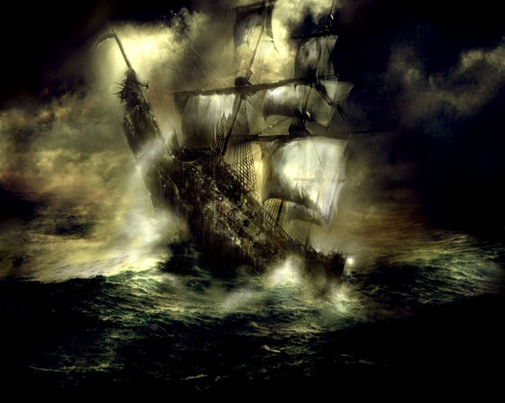 De Vliegende Hollander (Flying Dutchman)..., Pirates