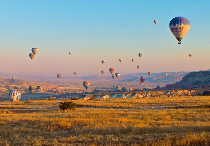 Cappadocia Rising A wonderful and unforgettable moment of my honeymoon almost 3 years ago. This is truly a magnificent place! #beautiful #amazing #photos #photography #pictures