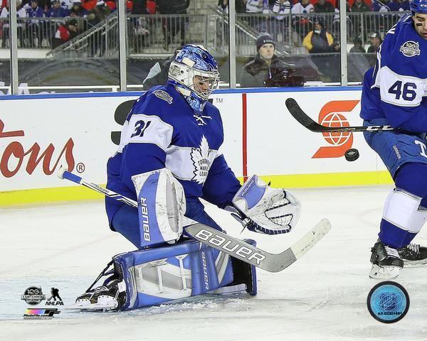 Frederik Andersen Toronto Maple Leafs 2017 Centennial Classic cojohockey.com