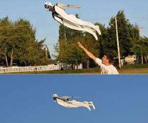 Radio Control Flying Superhero