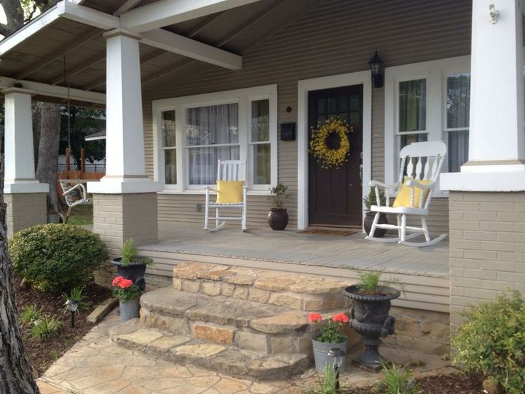 Pin by shannon hannagan on house pinterest for Arts and crafts porch columns