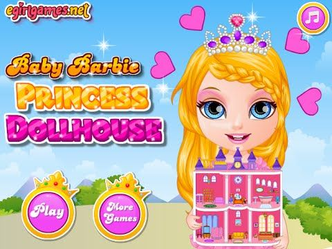 Barbie games doll house decorating games