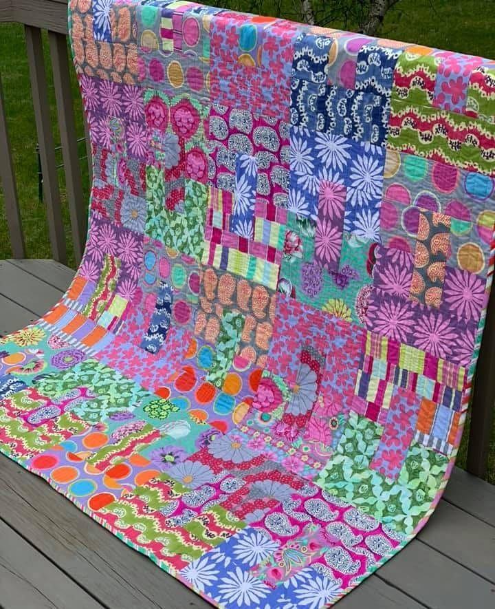 GE Quilt entwirft Teen Spirit Quilt. Wunderschön gestaltet von Barb L. Chapman mit …   – textil