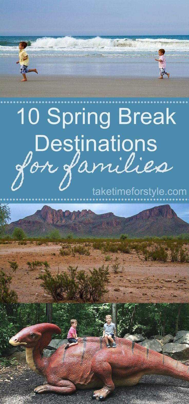 10 Spring Break Destinations for Families – #SpringBreak – Eignung