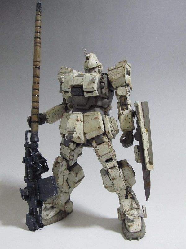MG 1/100 Ez-8 Gundam Custom build by Ras - Gundam Kits Collection News and…