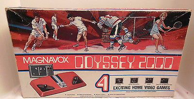 MAGNAVOX ODYSSEY 2000 PONG COMPLETE IN BOX SER #70829410  AA84/AC76