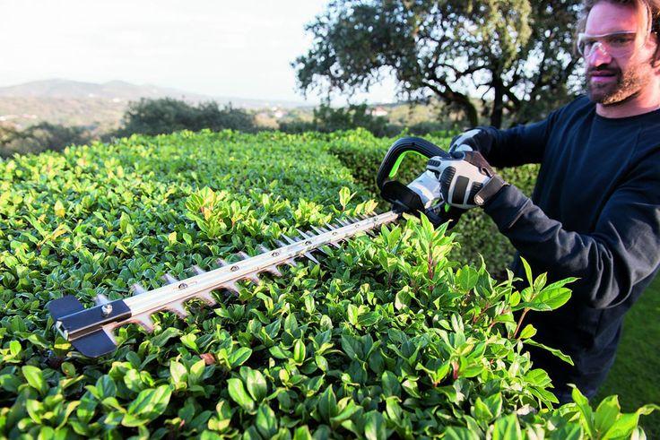 EGO Power+ 56 V HT2400E pensasleikkurin terän leikkuuleveys on 61 cm ja terän nopeus 2600 spm. Terä on valmistettu karkaistusta teräksestä ja se takaa erittäin siistin leikkuun. Myös tarvikkeet pihalle ja puutarhaan kätevästi Taloon.comista!