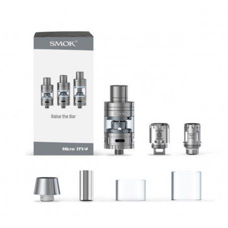 TFV4 Micro Kit - 3 Size Replacement Glass by SMOK TFV4