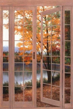 Diane Romanello Autumn Threshold Art Painting For Sale; Shop Your Favorite  Diane Romanello Autumn Threshold Painting On Canvas Or Frame At Discount  Price.