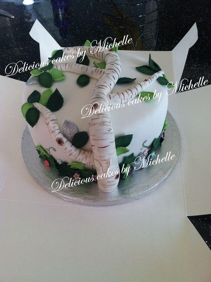 Silver Birch cake