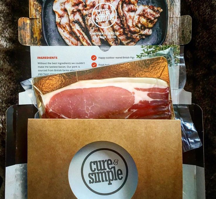 The feeling you get when hand cured artisan #bacon lands on your doorstep. Cureandsimple.com/signup #Foodie