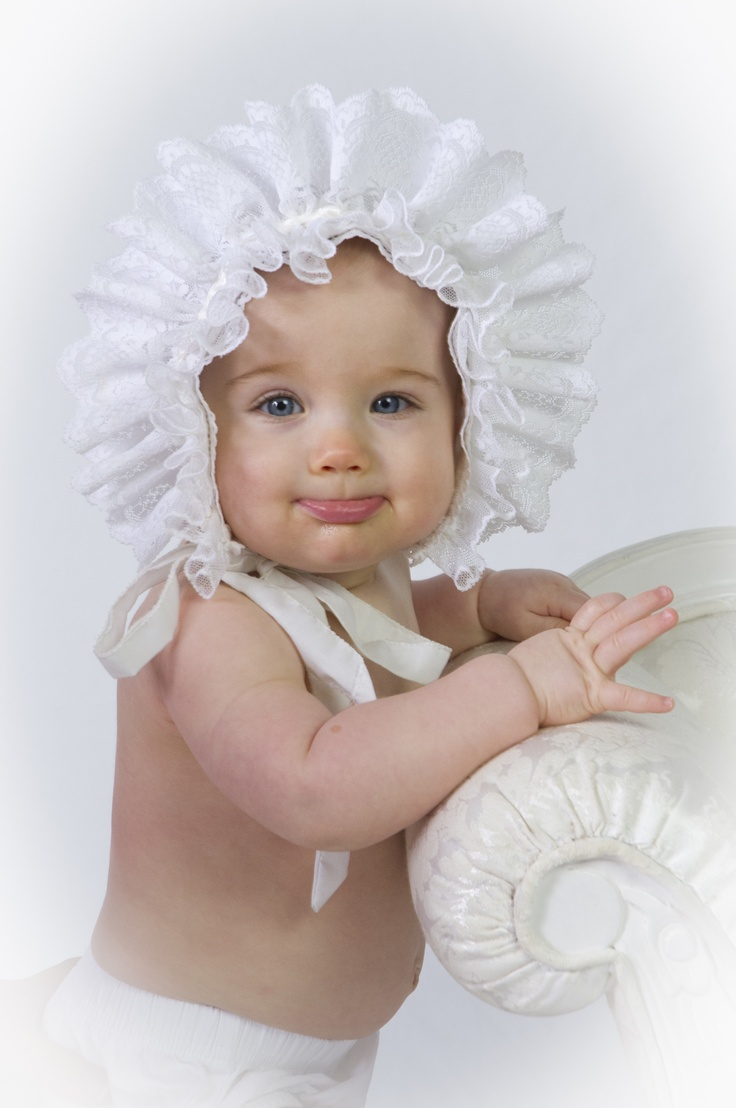 1000 Images About Beautiful Baby Bonnets On Pinterest