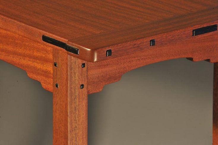 Greene and greene style table custom furniture pinterest for Greene and greene inspired furniture