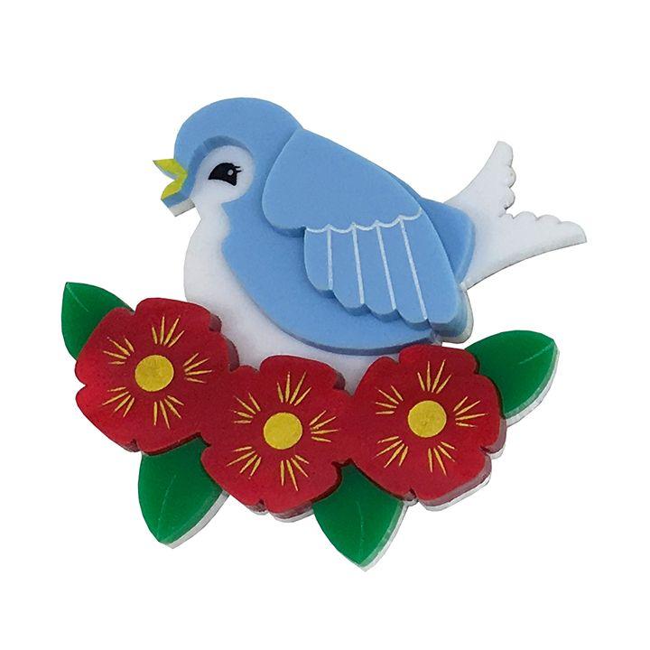 Blooming Barbara Bluebird | July 2017 | Peppy Chapette