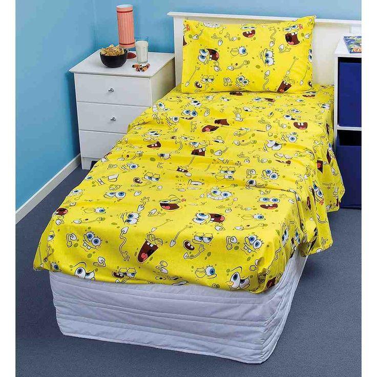 Spongebob Bed Set Bedding sets, Toddler bed set, Game