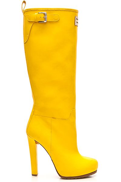 Yellow Fetish Boots - Porn Archive-9747