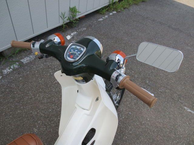 グリップとミラー交換のみのシンプルさ バイク 車両 中古
