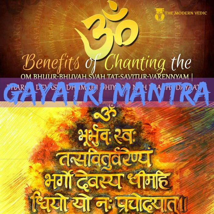 The Gayatri Mantra is an impregnable spiritual armor, a veritable fortress, that guards and protects its votary, transforming him into the divine, and blessing him with the brilliant light of the highest spiritual illumination and awakening. In Atharva Veda, it is said that the Gayatri meditation blesses its devotee with a long healthy life, a strong vital force (Prana), divine energy, fame, wealth and God Realization. #themodernvedic #gayatri #gayatri_mantra #mantra #hinduism #hindu…