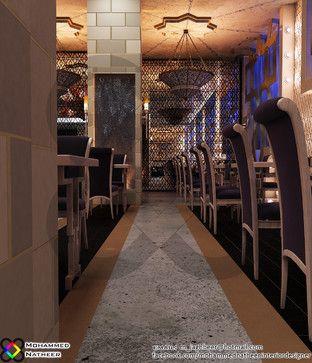 Moroccan interior design restaurant google search cool for Interior design 6 october