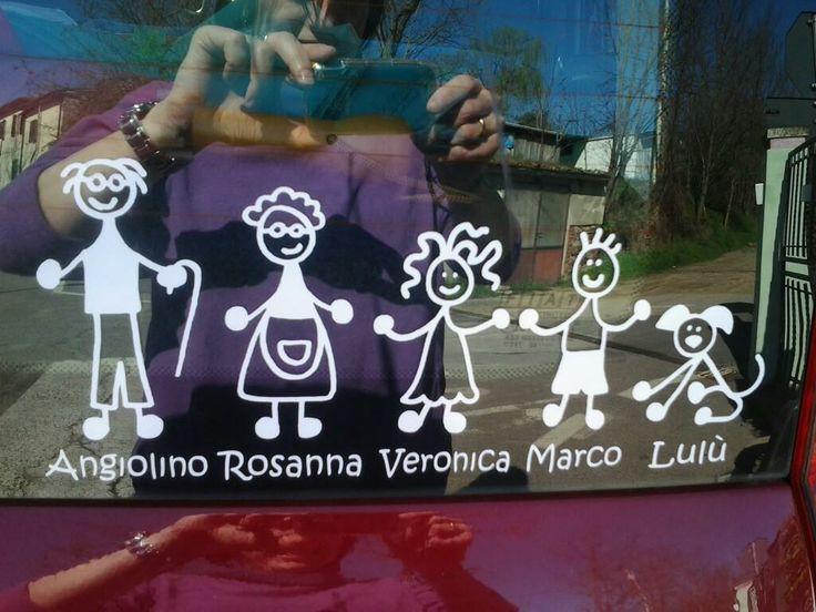 www.adesivifamiglia.it Anche coi nonni!