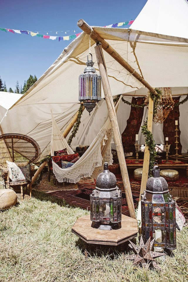 Festival tepee wedding in a meadow | Feather Love Photography | see more on: http://burnettsboards.com/2016/01/ultimate-festival-wedding/