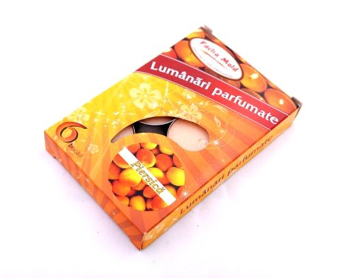 Lumanari parfumate 6/set Piersica