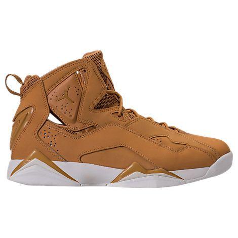 NIKE MEN'S JORDAN TRUE FLIGHT BASKETBALL SHOES, BROWN. #nike #shoes #