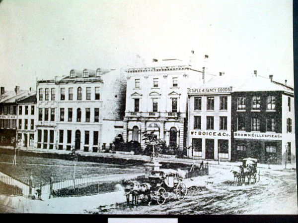 Gore Park, late 1800's