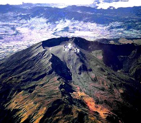 Volcán Galeras, Pasto, Colombia