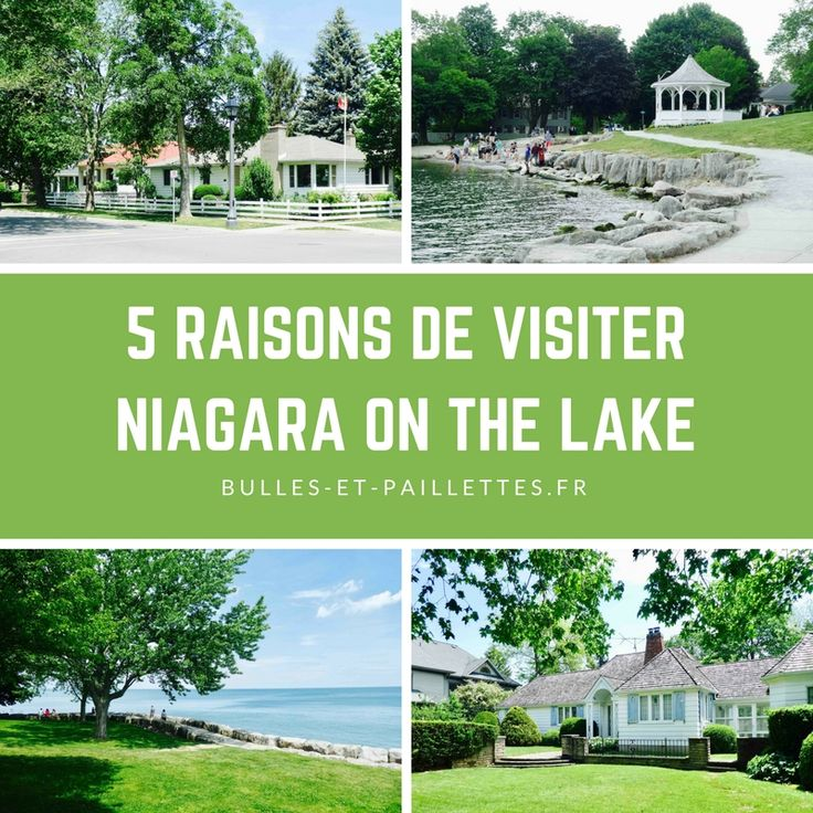 Charmant petit village en Ontario, Niagara on the Lake a été une belle découverte ! Et voilà 5 raisons qui devraient vous donner envie d'y aller vous aussi :-)