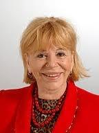 Ombretta Colli, cantante, attrice e politica italiana, nata a Genova, Liguria, Italy