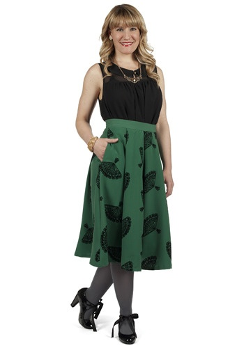 B. Jones Style Skirt, #ModCloth