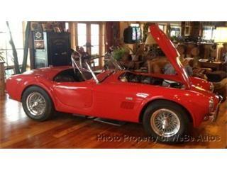 1962 Shelby Cobra for Sale   ClassicCars.com   CC-555675