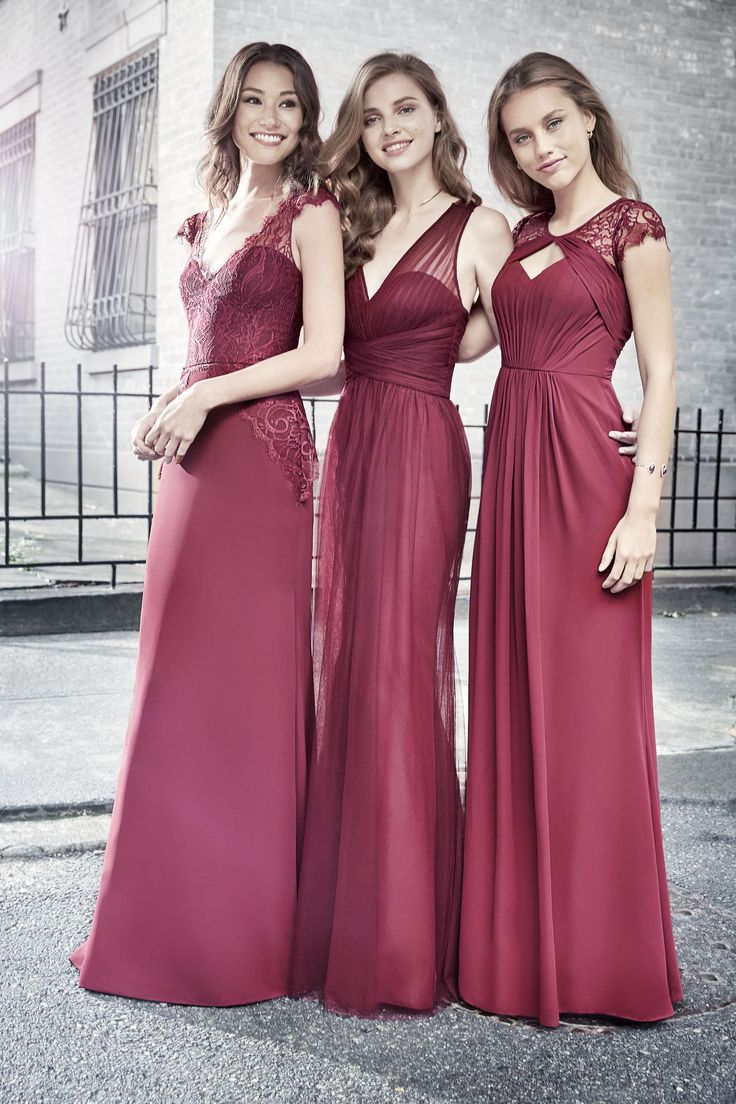 180 best bridesmaids and flower girls images on pinterest flower 50 burgundy bridesmaid dresses for weddings 9 ombrellifo Image collections