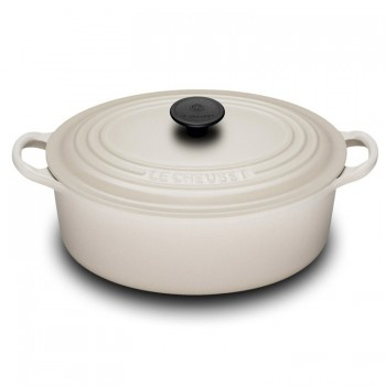 "Le Creuset ""Dune"" 27cm Oval French Oven - Teddingtons"